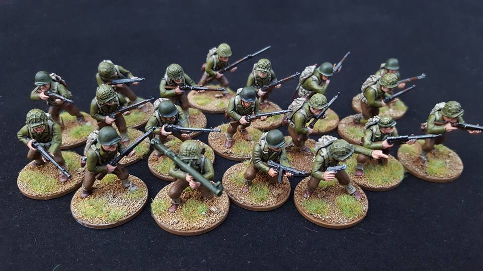 Peter's Projects – Bolt Action Germans & Americans