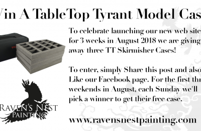 Facebook Promotion – Win a Tabletop Tyrant Case
