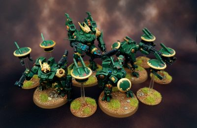 Tau Army – High Tabletop