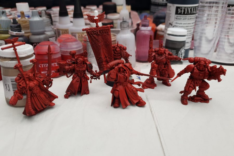 Blood Angels Work in Progress, by Matt
