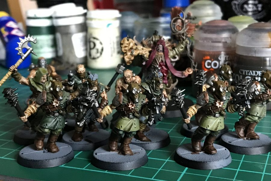 Nurgle Cultists WIP from Peter
