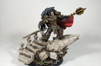 HORUS THE WARMASTER PRIMARCH OF THE SONS OF HORUS – Painted by Sam