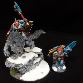 Space Wolves Characters