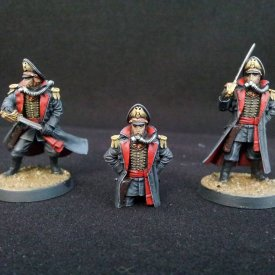 Death Korps Commissars